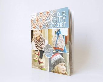 Learn to Tapestry Crochet book (paperback), crochet book, tapestry crochet, crochet patterns