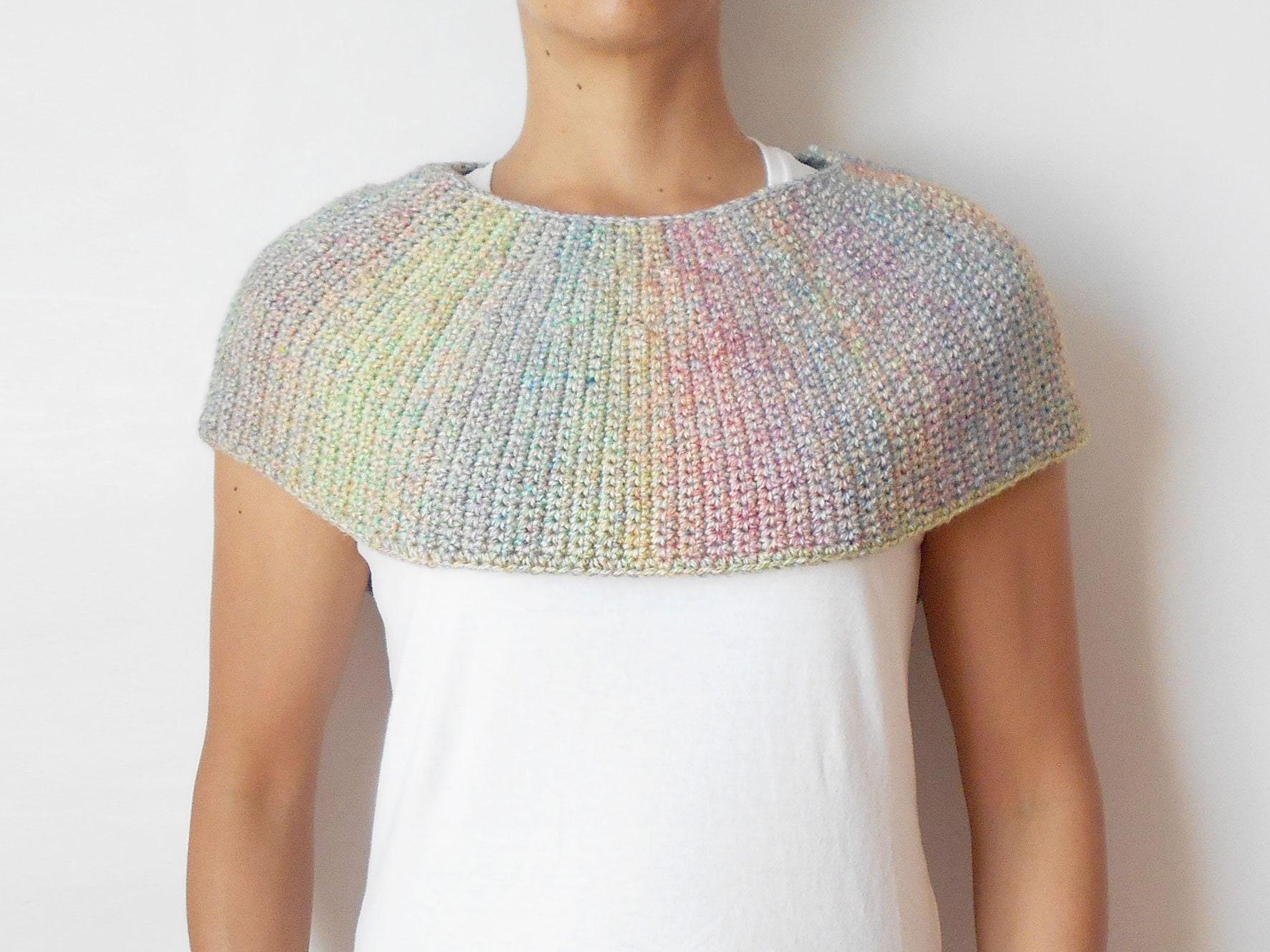 Diane Capelet crochet pattern crochet cape crochet cowl | Etsy