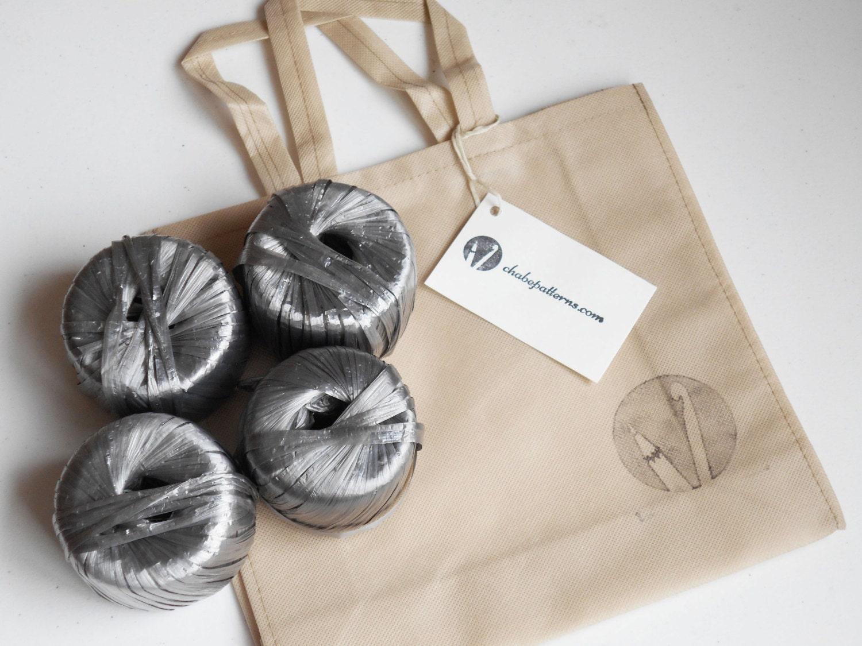 Kit de materiales para tejer bolso básico 3 incluye patrón | Etsy