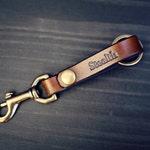 Personalized Belt clip Keychain Leather Personalized, GPS Coordinates, Custom Leather Keyring, Key Chain, Name Keychain, Name Keyring, arrow