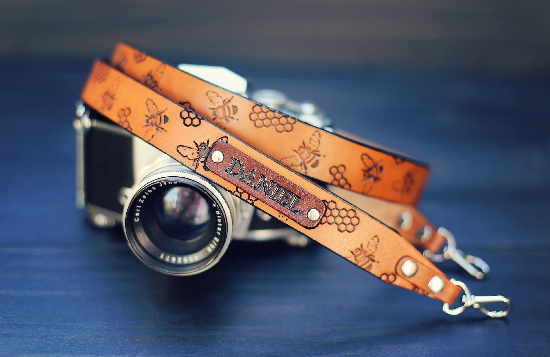 hand made loom camera strap photographer gift leather camera accessories Cinta bohemian boho A camera strap