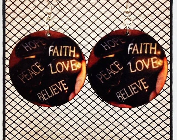 Positive Affirmations Earrings