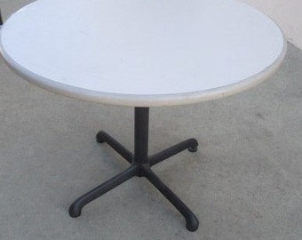 Mid Century Bistro Table by Steelcase (shipping is NOT included)*