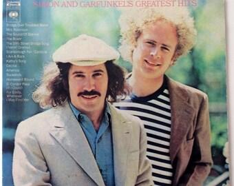 Simon & Garfunkel - Simon And Garfunkel's Greatest Hits LP Vinyl Record Album, Columbia - KC 31350, Original Pressing