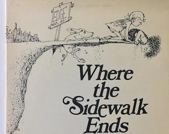 Where sidewalk ends etsy shel silverstein where the sidewalk ends lp vinyl record album columbia fc 39412 poetry story 1984 original pressing fandeluxe Choice Image