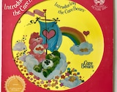 Introducing The Care Bears Limited Edition Picture Disc LP Vinyl Record Album, Kid Stuff Records - KPD 6016, 1982, Original Pressing