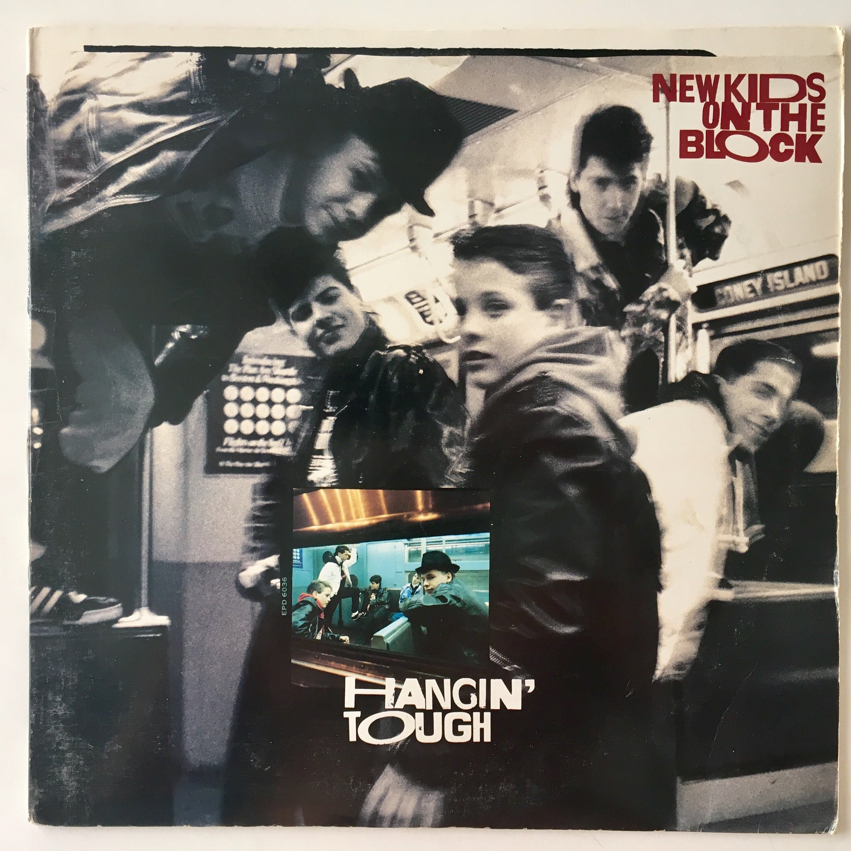 New Kids On The Block Hangin' Tough LP Vinyl Record   Etsy