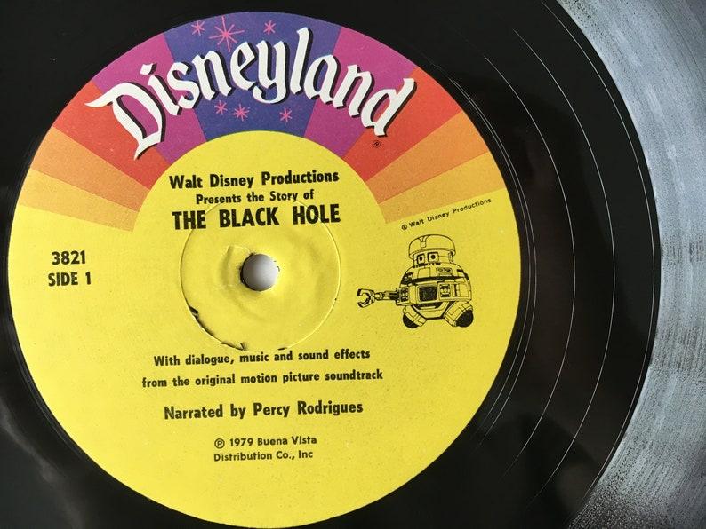 The Black Hole (The Story of ) LP Vinyl Record & Book Album, Disneyland -  3821, Childrens, Soundtrack, 1979