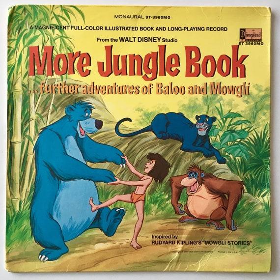 More Jungle Book Lp Vinyl Record Album Disneyland Etsy