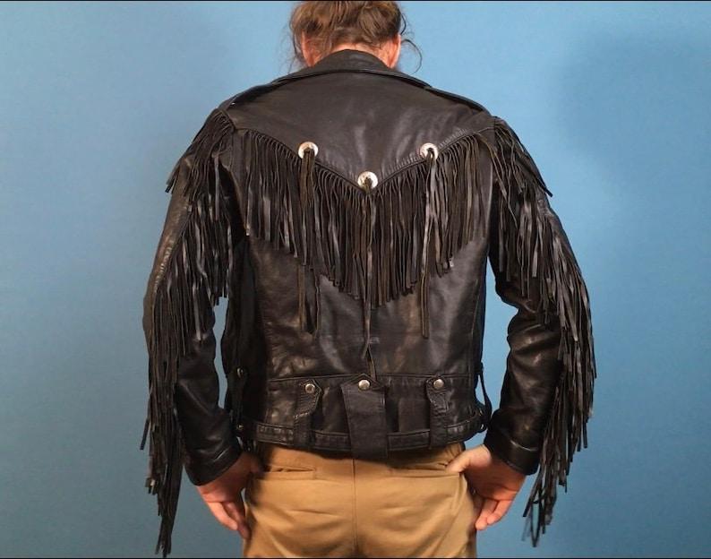 Black Fringe Jacket Pictures
