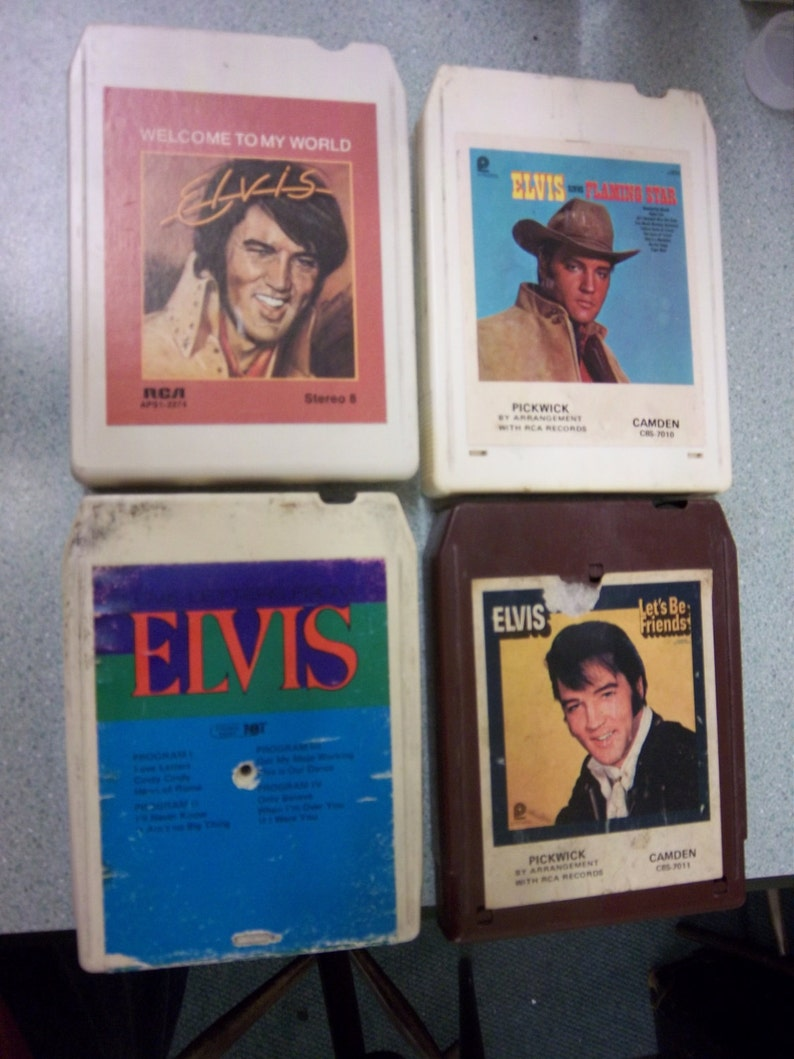 Elvis Presley Twin Set 8 Track Rca 1973 Discounts Price Other Formats