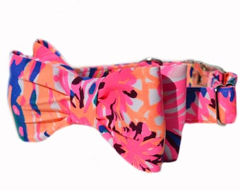 18a0f6e7ea4638 Lilly Dog Bow Collar in
