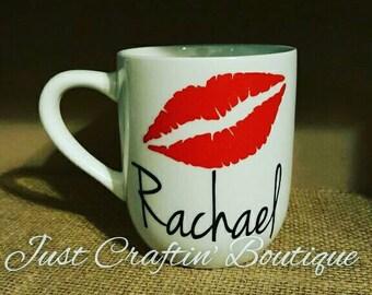 Custom lips mug // ANY colors