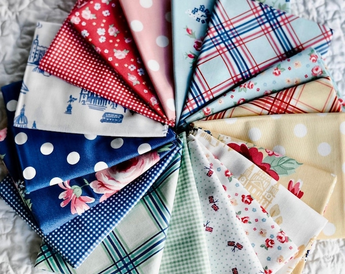 18-Piece Notting Hill Fat Quarter Bundle by Amy Smart for Riley Blake Designs