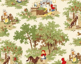 Little Red Riding Hood by Whistler Studios for Windham Fabrics - 1/2 Yard