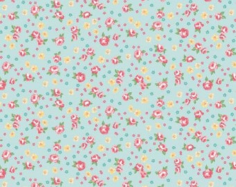 Notting Hill Floral in Songbird by Amy Smart for Riley Blake Designs - 1/2 yard