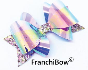 """4.5"""" FranchiBow Plastic Hairbow Template Trace and Cut - in stock"""