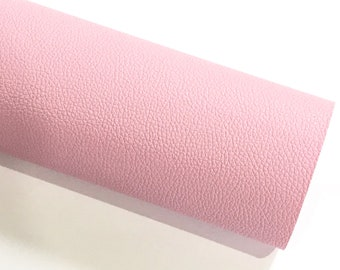 Lilac Pink Leatherette Sheet Thin 0.7mm  A4 8X11 or A5