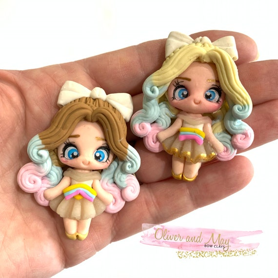USA buyers No Free Shipping Christmas Shakers Bow Clay Embellishments please see description No Further Discount