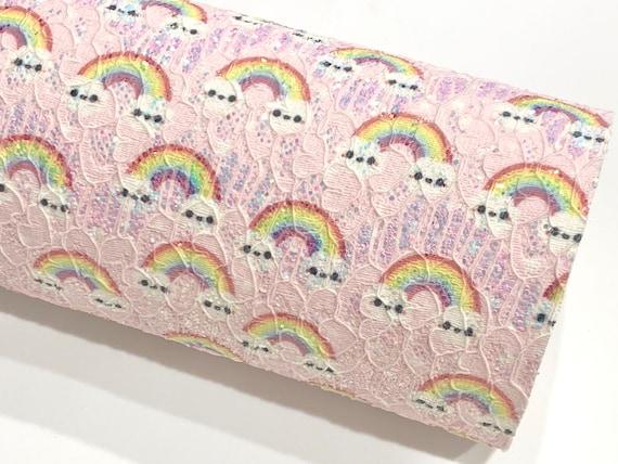 Liberty Fabric Lilac Glitter Birthday Badge