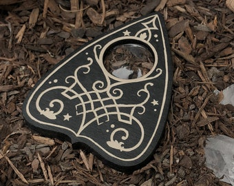 Mini Lunar Filigree Planchette // Sacred Bone