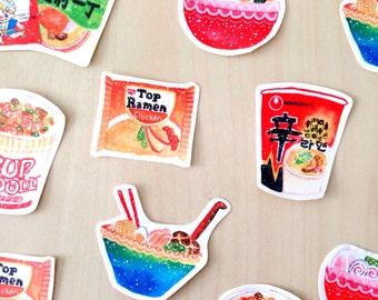 Ramen Stickers