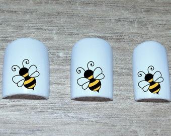Bee Nail Art Etsy