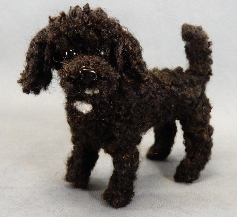 Black Poodle needle felted dog miniature Poodle memento custom dog replica teacup poodle effigy art decor dog urn gift dog loss memorial