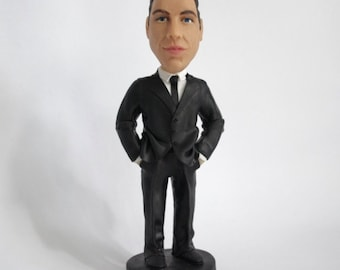 Custom Bobbleheads and Figurines with your looks - Businessman - Customized Birthday, Anniversary or Business gift - Personalized Bobblehead