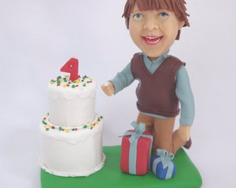 Custom figurine from you photo - Unique Kids Birthday - 100% Money-Back Guarantee