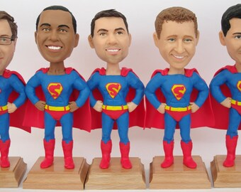 Custom Groomsmen Bobble Heads - Personalized Groomsmen Gift - Unique Doll Gift For Groomsmen - Best Groomsmen Bobble Head Gift For Him