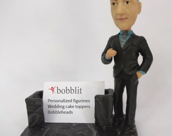 Custom Bobblehead - Figurine - Business Card Holder - Perfect Business gift