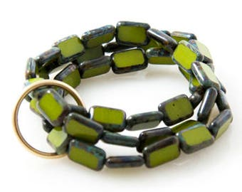 Avocado 'Trio' Bracelet