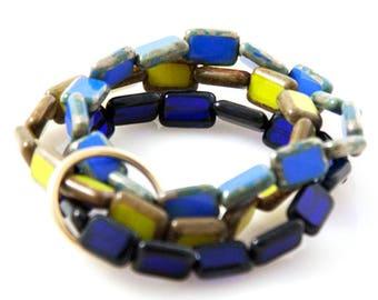 Deep Ocean 'Trio' Bracelet