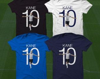 Harry Kane 10 T-Shirt - Spurs Player - Size S to XXXL -Custom Apparel Football, Premier League, Tottenham Hotspurs, football clothes