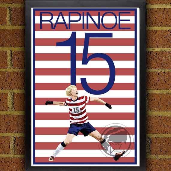 Megan Rapinoe  2019 USA Women/'s Soccer Custom Card World Cup Blank Back