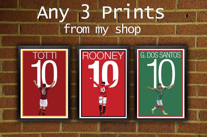 Any 3 Prints  Pick Your Size posters from my shop    art image 1