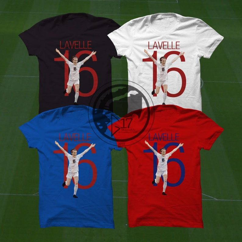 premium selection 1b998 e8ad6 Rose Lavelle T-Shirt - USWNT Player - Size S to Xxxl - Custom Apparel  soccer, world cup tshirt, Rose Lavelle tee, uswnt tshirt