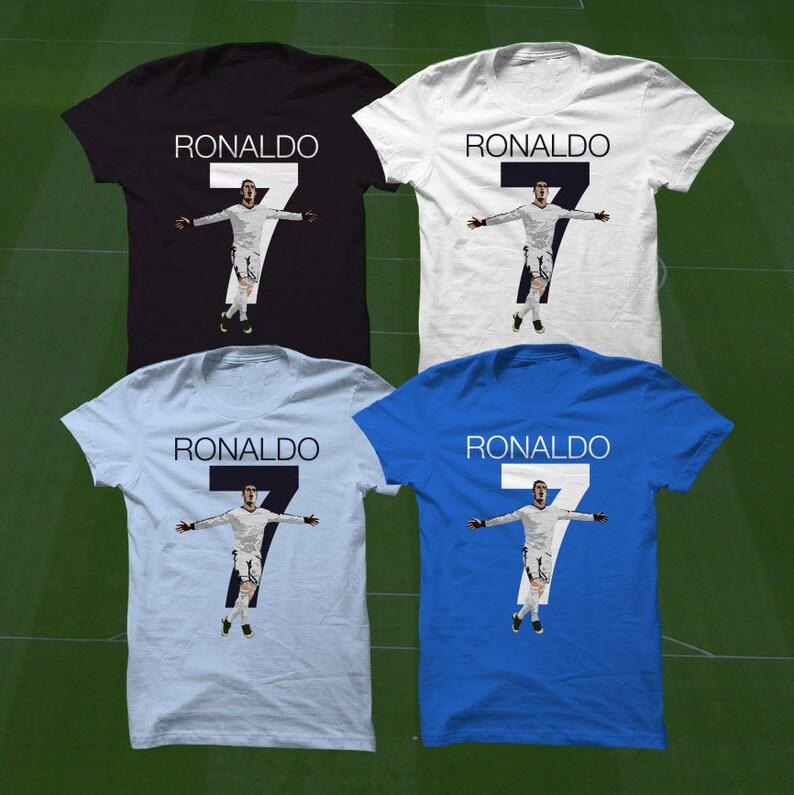 CR7 Shirt Ronaldo T-Shirt RMCF Soccer Player Size S to  fa1b1f7b7