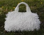 Articoli Simili A Borsa Ad Uncinetto In Rafia Stile Prada Crochet