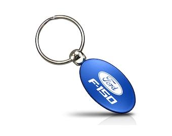 Ford F150 2015 to 2018 Logo Metal Key Chain Keychain by iPick Image Key Charm