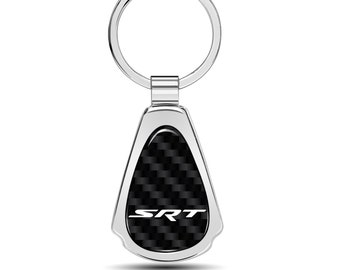 SRT-8 Black Bluetooth Key Finder Tracking Device Key Chain for Dodge Jeep RAM