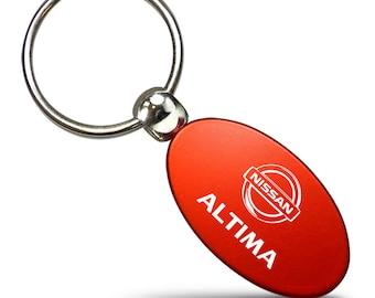 Nissan Key Ring Pink Wave Keychain