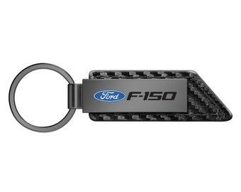 Lincoln MKZ GT Key Ring Gunmetal Rectangular Keychain