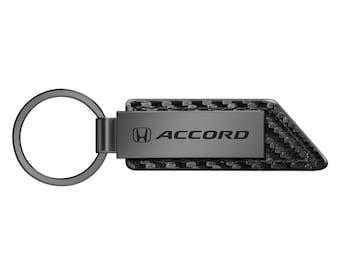 Honda Accord Silver Snap Hook Metal Key Chain Keychain Key-ring Made in USA