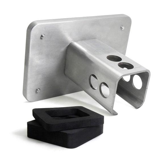 Chevrolet Silverado iPick Image Carbon Fiber Look Graphic Plate Billet Aluminum 2 X 2 inch Tow Hitch Cover