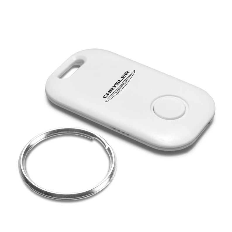 Chrysler 200 White Bluetooth Smart Wireless Key Finder Tracking Device Key Chain