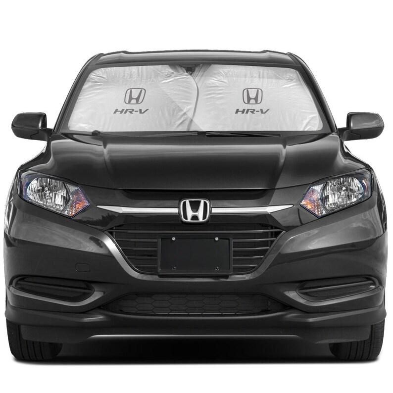 Honda HR-V Dual Panels Easy Folding Windshield Sun Shade for Small SUVs
