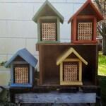 Mason Bee House, Habitat, Cedar, Habitat Restoration, organic gardener