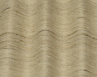 "Natural Color Tassah/Noil 100% Raw Silk Fabric, 54"" Wide, 0.45 yard piece (WT-205)"